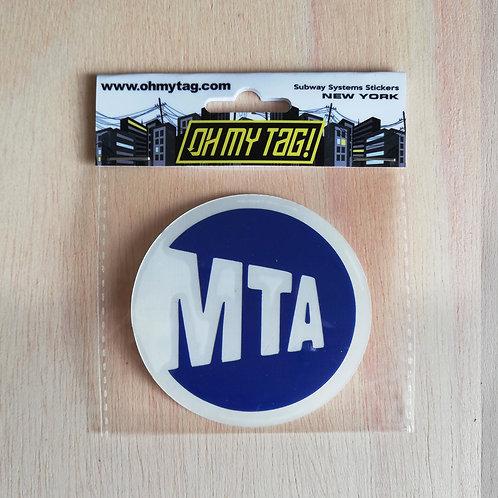 OMT Sticker Metro New York