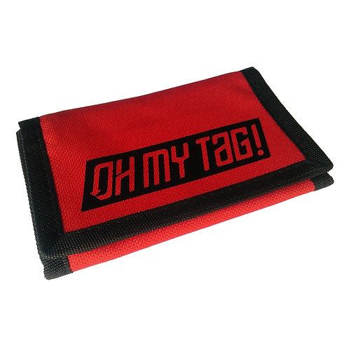 Cartera OMT Rojo/Negro
