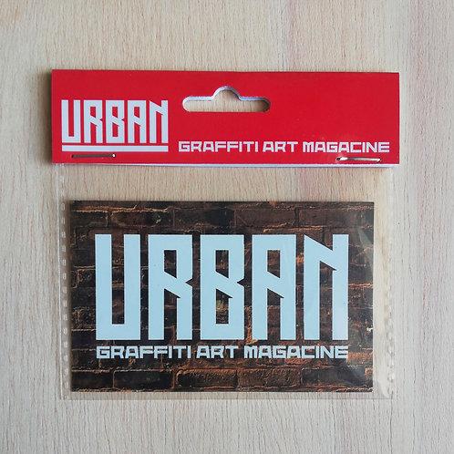 Sticker URBAN (Bricks-white)