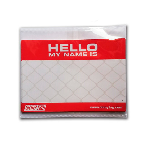 """""""Pack A"""" Stickers HELLO MY NAME"""
