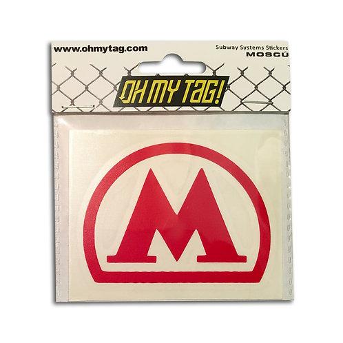 OMT Sticker Metro Moscú