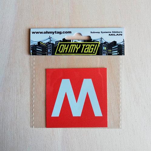 OMT Sticker Metro Milan