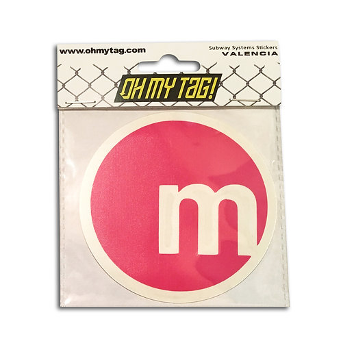 OMT Sticker Metro Valencia
