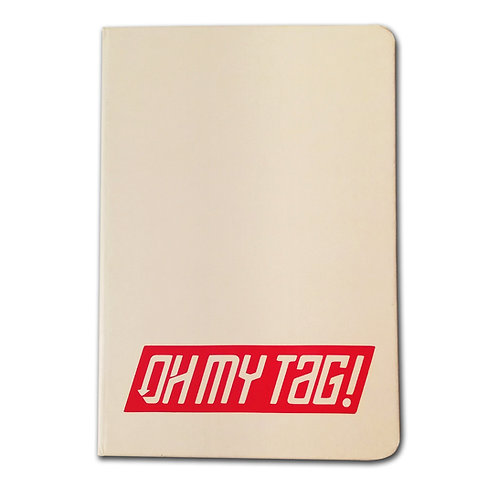 OMT Blackbook A5 Blanco/rojo