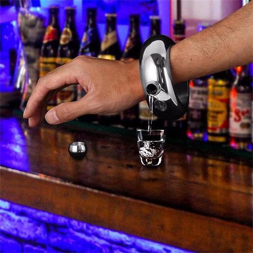 100ml Stainless Steel Jug Bracelet Unique Alcohol Hip Flask