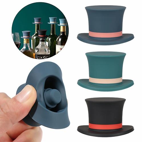 Bottle stopper - hat