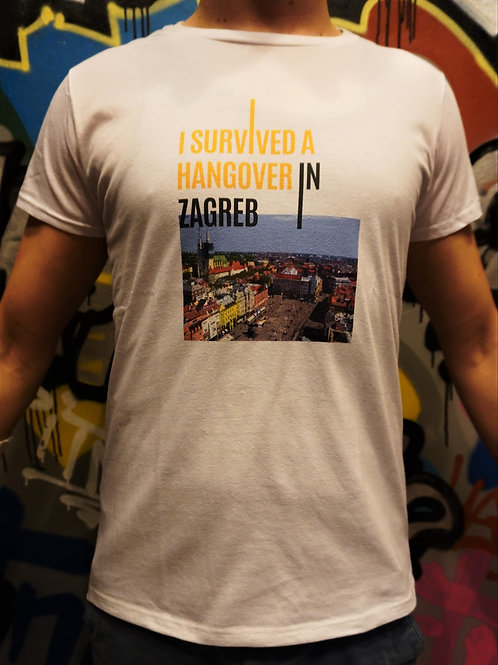 Survived Hangover T-shirt