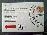 señalética informativa , letrero informativo , gráfica en trovicel