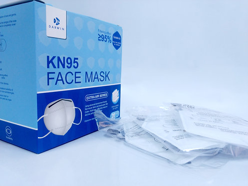 Mascarillas KN95 Certificación CE / FDA