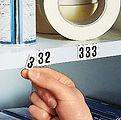 letra magnetica , marcación magnética , identificación magnética