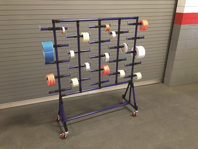 estructura cintas embalaje