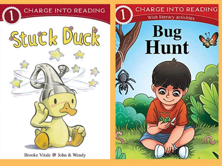 """Book Review: """"Stuck Duck"""" & """"Bug Hunt"""" by Brooke Vitale"""