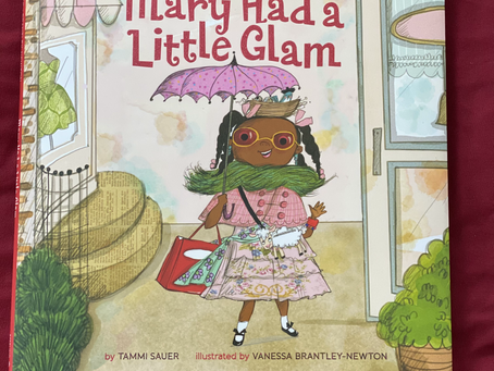 """Book Review: """"Mary Had a Little Glam"""", by Tammi Sauer"""