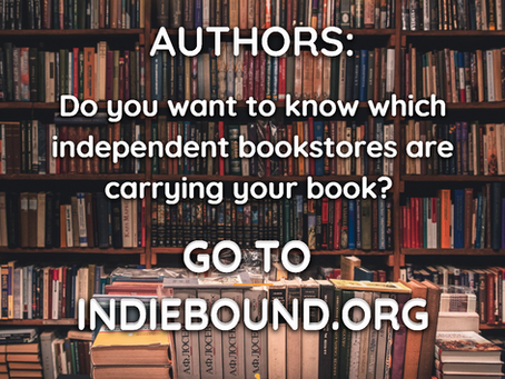 Which Independent Bookstores Are Selling Your Book? Here's How to Find Out.