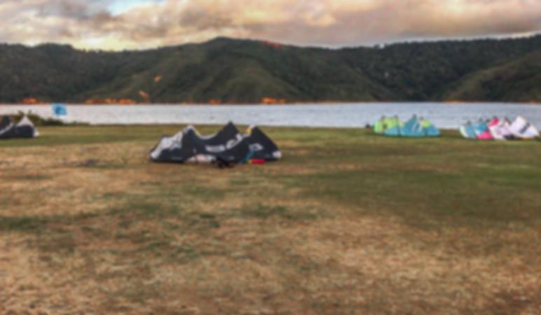 kitesurf kites lake calima cali colombia