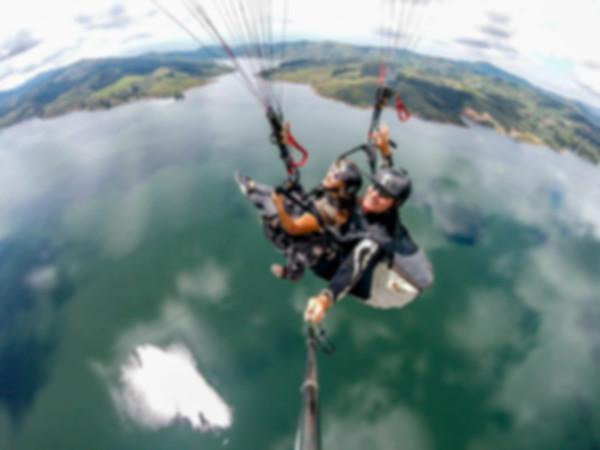 tandem paragliding lake calima