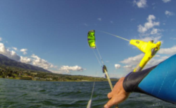 kitesurf Calima lake Cali Colombia