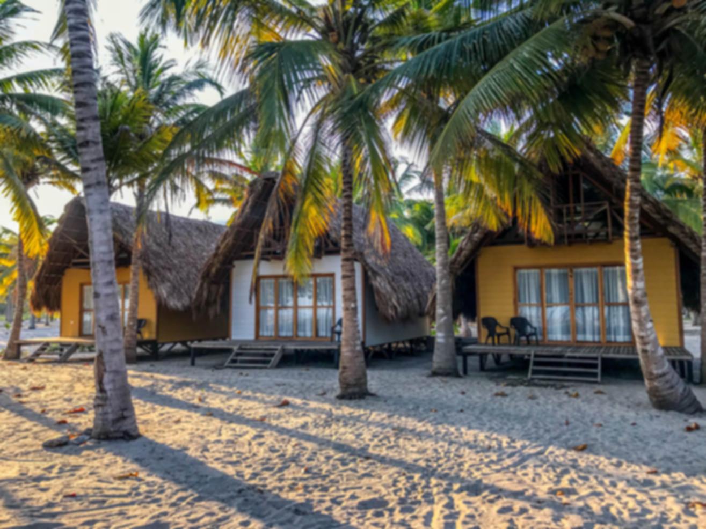Beach bungalows Santa Marta