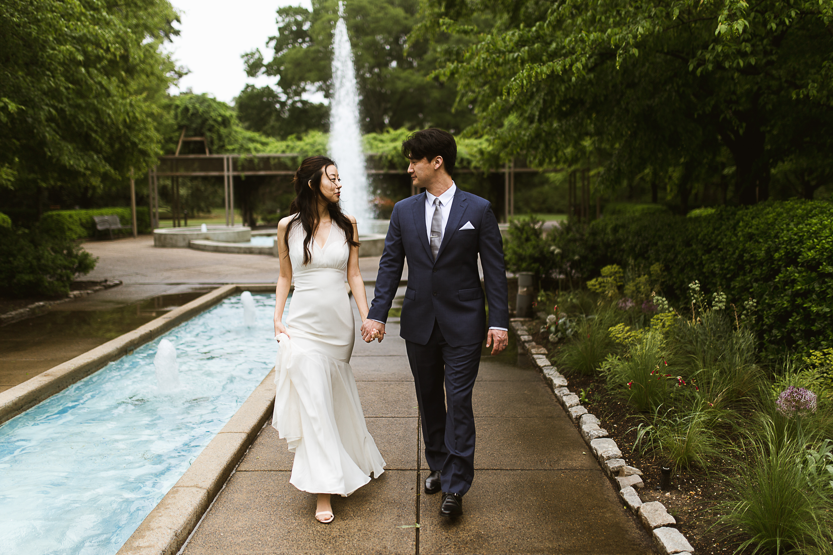 Wedding Formals at Memphis Botanic Gardens