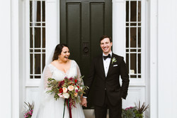 Just Married! A beautiful wedding formal!