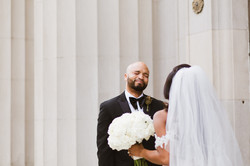 The First Look from Memphis Wedding Photographer