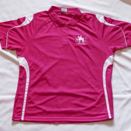 SPPHA NSW Polo Shirt: Ladies Pink
