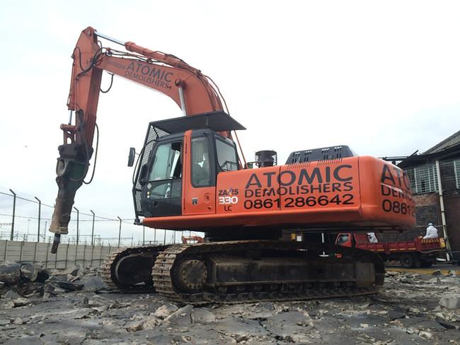 JT Ross Sydney Road Demolition