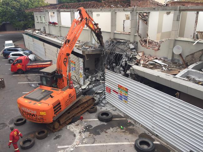Fountain Centre CPT Demolition