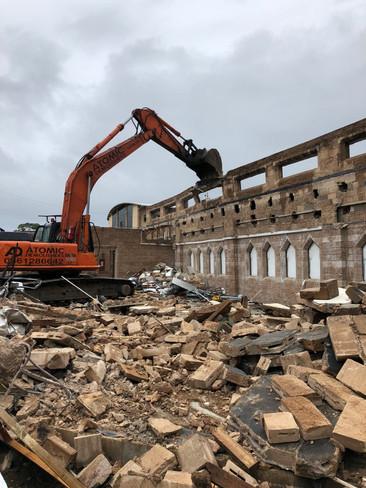 The Dome Church Demolition