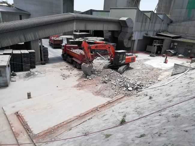 NPC Demolition of Old Lab