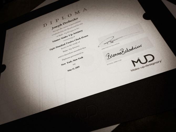 Make-Up Designory Diploma