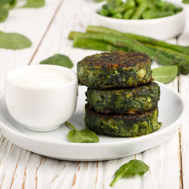 Asparagus and Leek Fritters