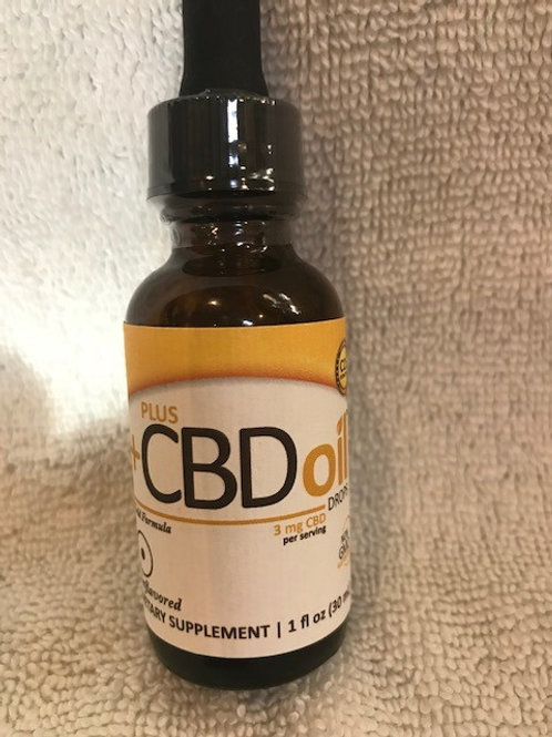 Gold Formula Drop 3 mg 1 oz