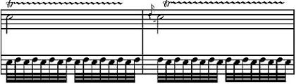 Barocke Triller auf der Blockflöte