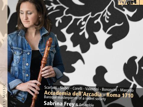 Sabrina Frey & Ensemble: Accademia dell'Arcadia Roma 1710