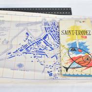 CARTE DE SAINT- TROPEZ
