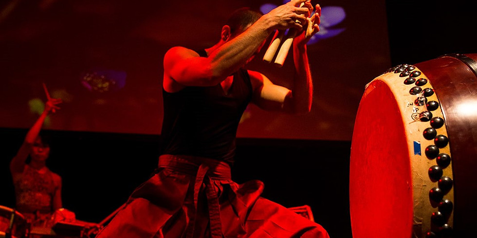 Taiko Workshop for Beginners 6/4 18: 30 ~