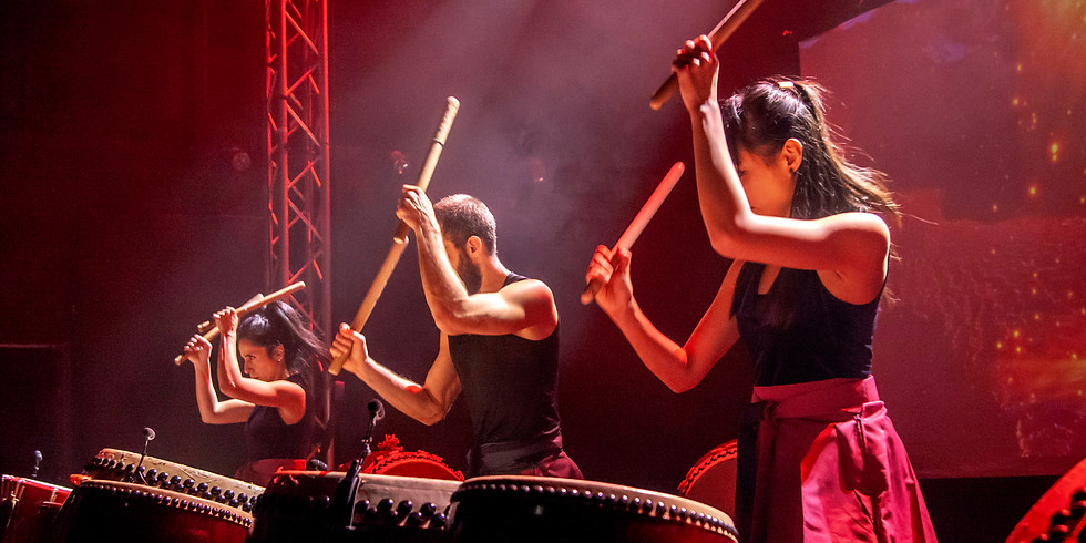 Taiko Workshop for Beginners 16/3 18:30~