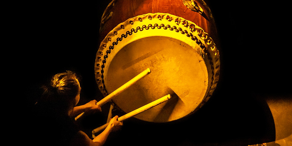 Taiko Workshop for Beginners 22/3 20:00~