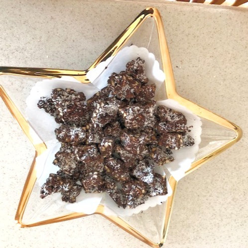 ALMOND COCONUT CHOCOLATE CLUSTERS