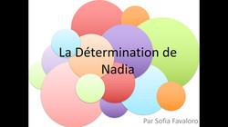 La determination de Nadia
