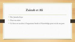 Zainab et Ali