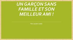 Un Garcon sans famille et son meilleur a