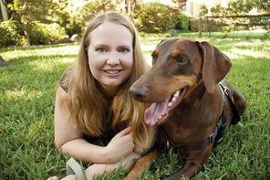 Cathy Painter-Rigdon training dogs