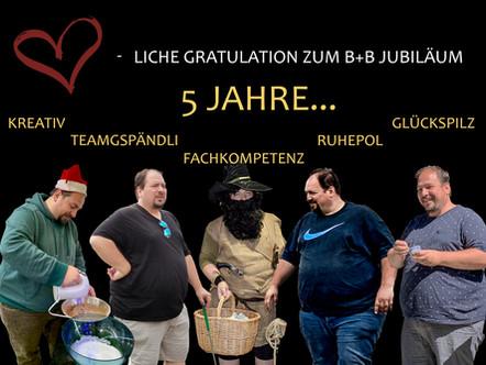 Giuseppe Bilotta 5-Jahres-Jubiläum
