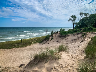 Lake Michigan at Indiana Dunes National
