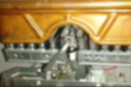 чистка запальника фитиля газовой колонки