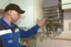 порядок установки или замены газовой колонки