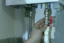 подключение газовой колонки к водопроводу