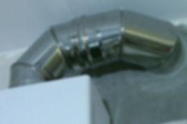 подключение газовой колонки к дымоходу